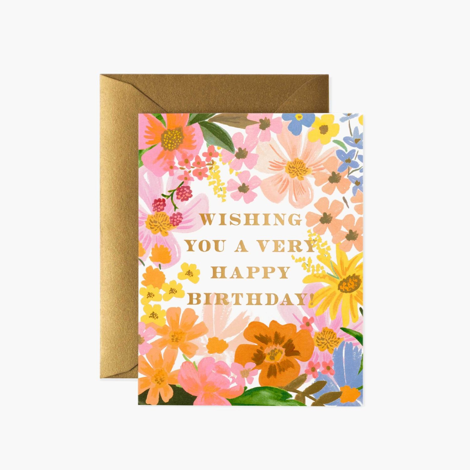"Rifle Paper Co. ""Marguerite Birthday"" Greeting Card"