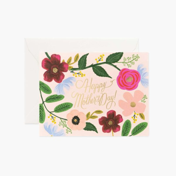 "Rifle Paper Co. ""Wildflowers Mother's Day"" Greeting Card"