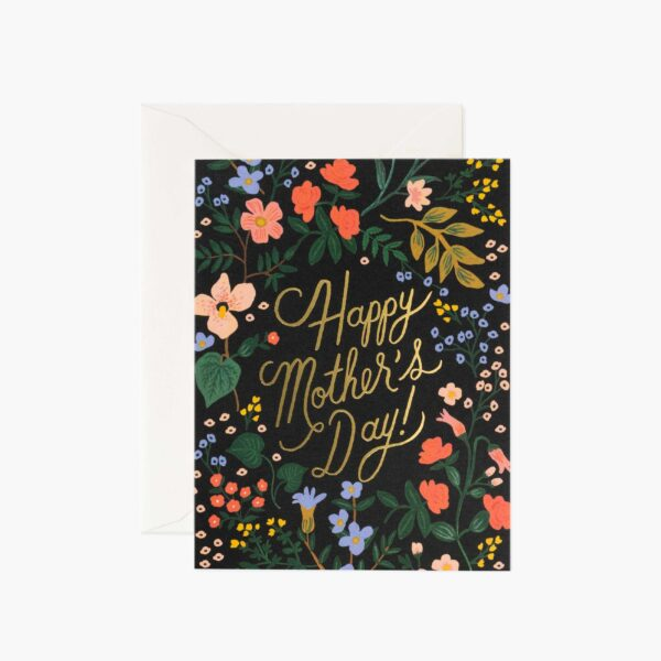 "Rifle Paper Co. ""Wildwood Mother's Day"" Greeting Card"