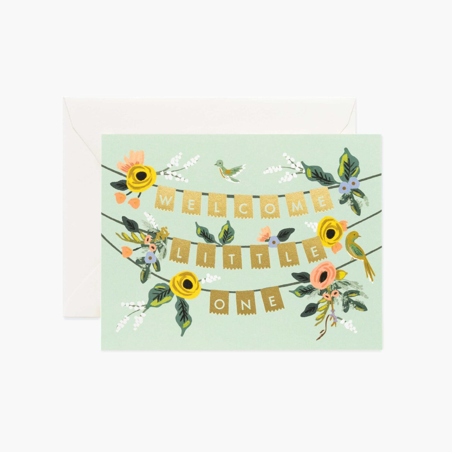 "Rifle Paper Co. ""Welcome Garland"" Greeting Card"