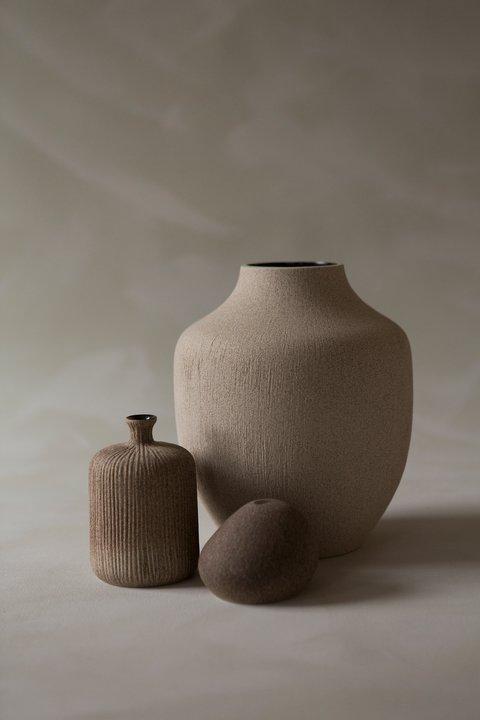 Kyoto Ceramic Vase - Sand