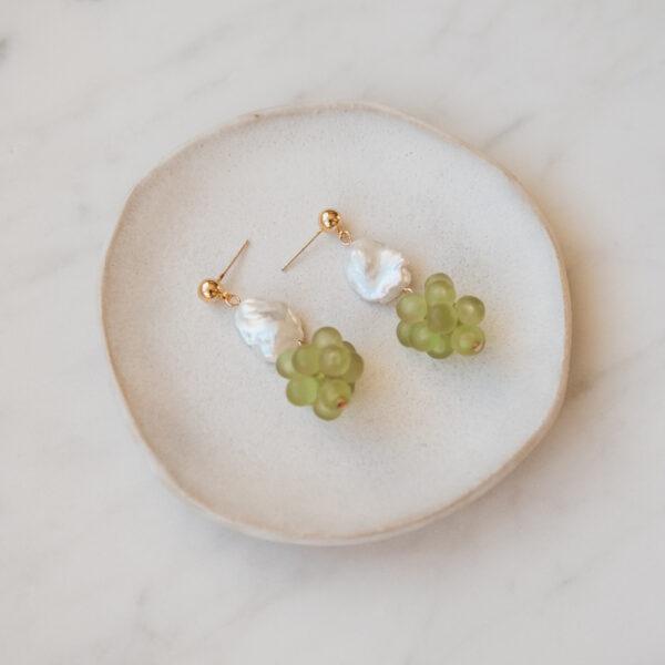 Lola Grape Earrings