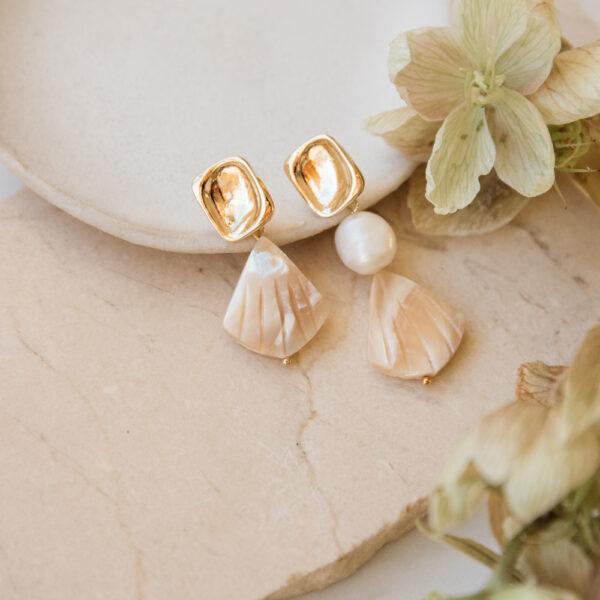 Aries Baroque Pearl Earrings
