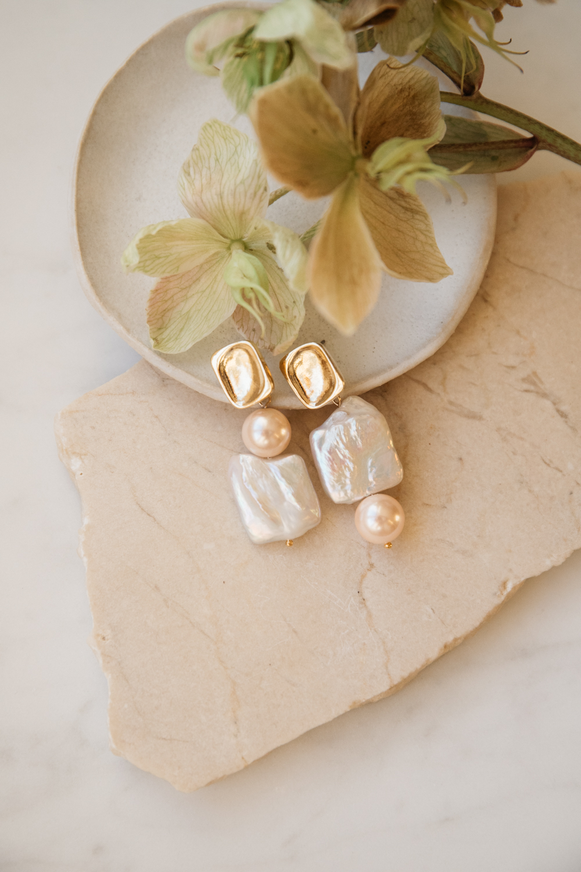 Vita Baroque Pearl Earrings