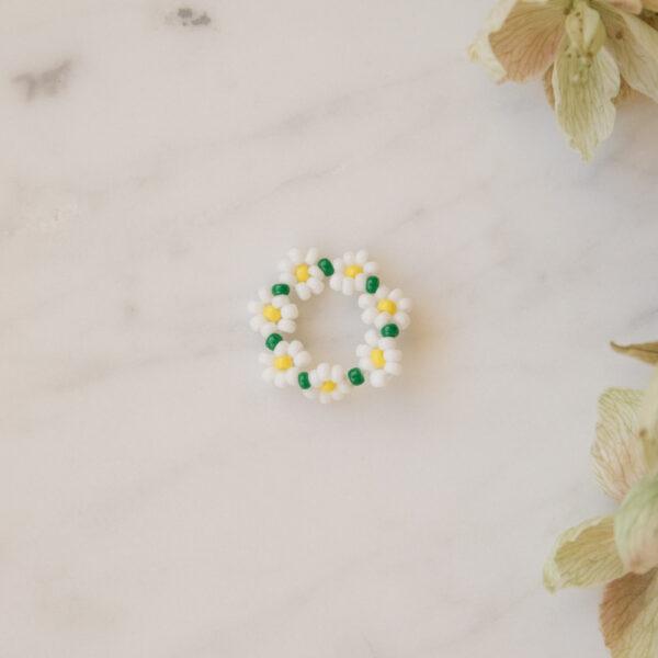 Florencita Japanese Bead Ring - Margarita