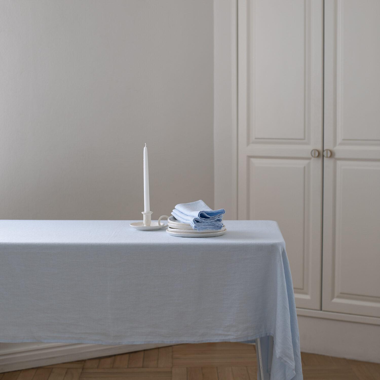 Sky Linen Tablecloth