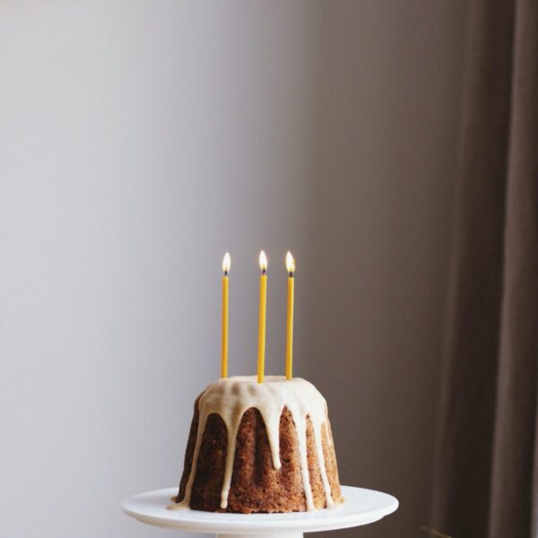 Beeswax Birthday Candles - 20 pcs