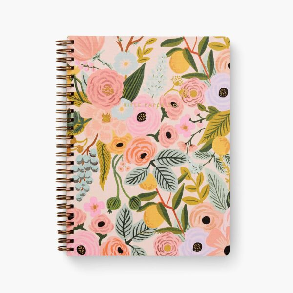 """Rifle Paper Co. """"Garden Party Pastel"""" Spiral Notebook"""