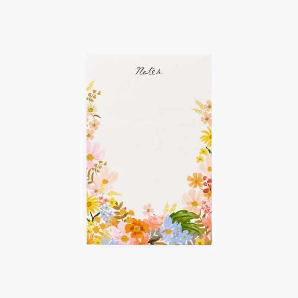"""Rifle Paper Co. """"Marguerite"""" Blank Notepad"""