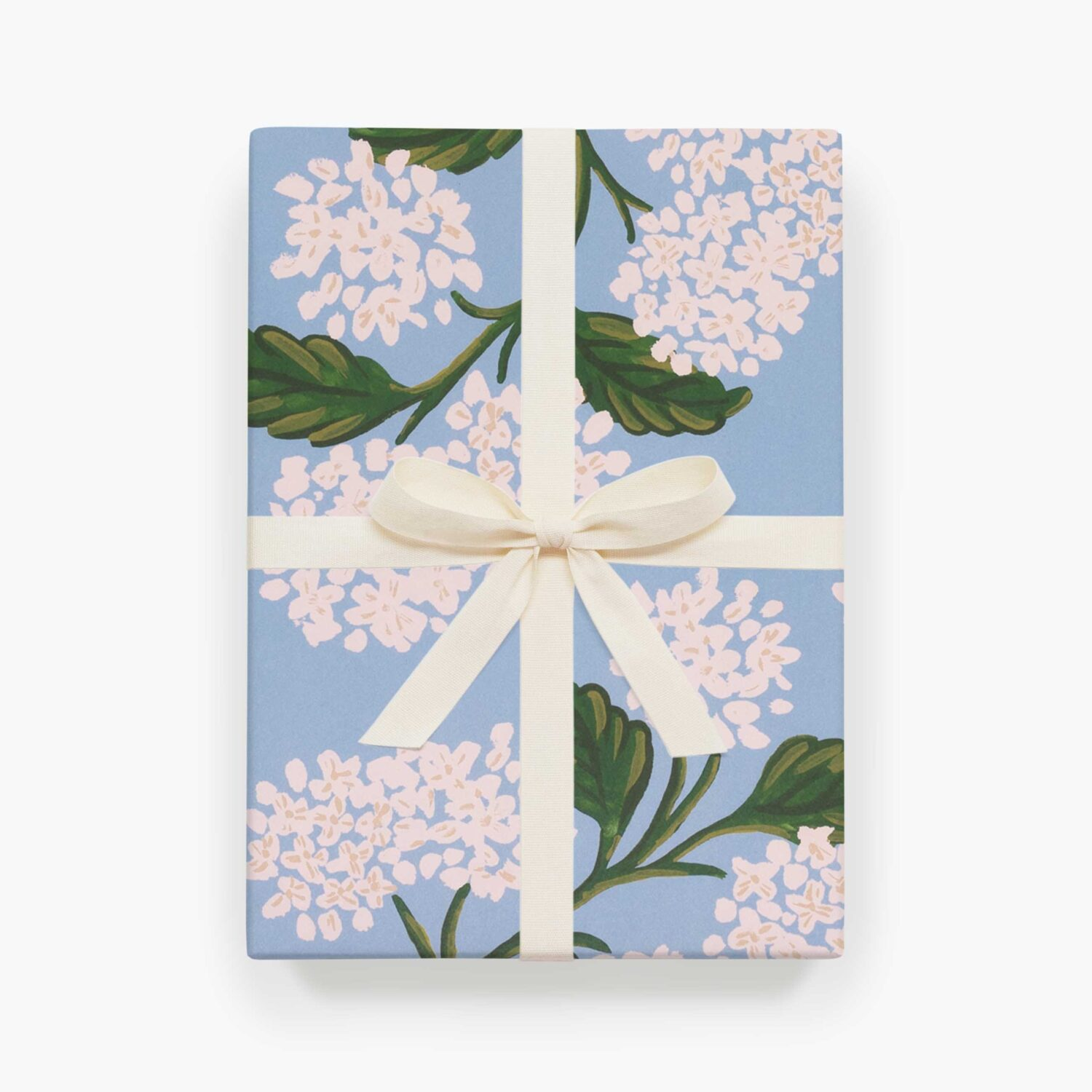 """Rifle Paper Co. """"Hydrangea"""" Wrapping Paper Sheet"""