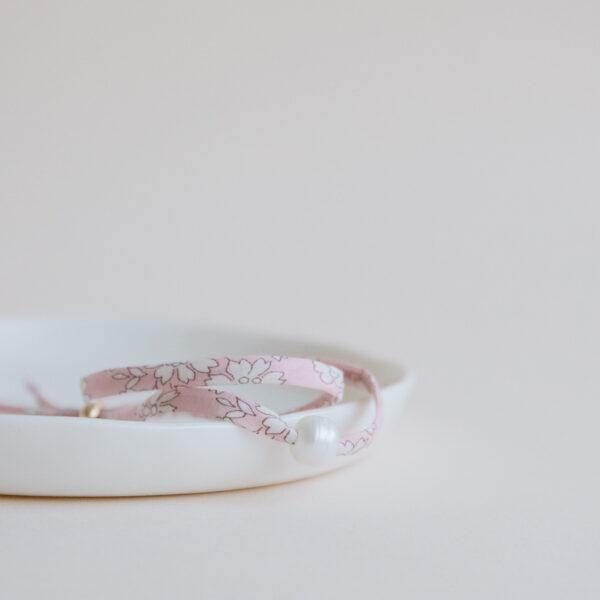 Liberty Pearl Bracelet - Blush
