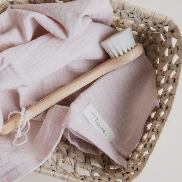 Zoe Cotton Hand & Kitchen Towel - Blush
