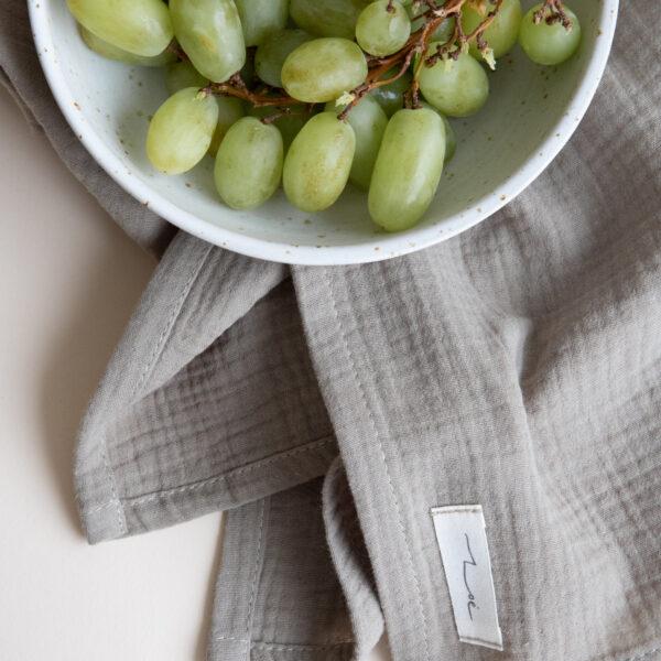 Zoe Cotton Hand & Kitchen Towel - Olive