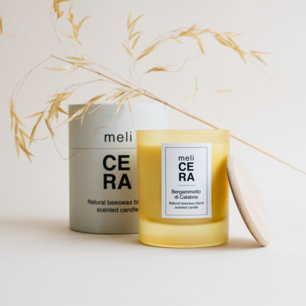 Natural Beeswax Scented Candle - Bergamotto di Calabria