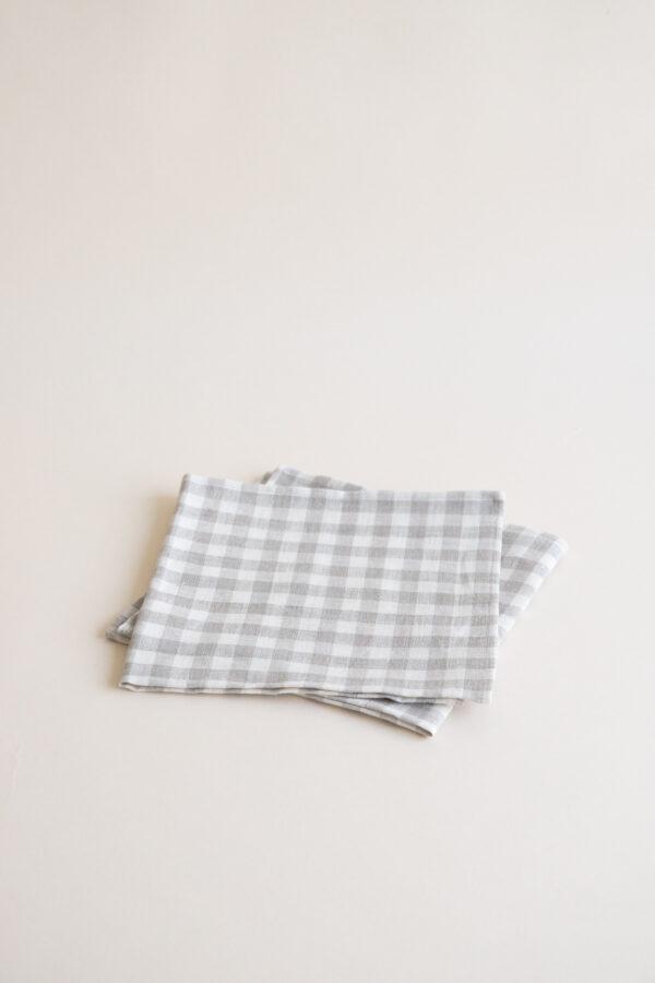 ALMOND Linen Napkin Set of 2